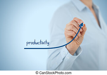 Productivity increase - Manager (businesswoman, coach,...