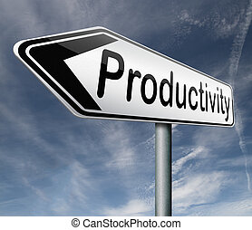 productivity industrial or business productive
