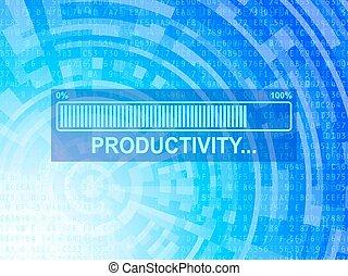Productivity Tech Background