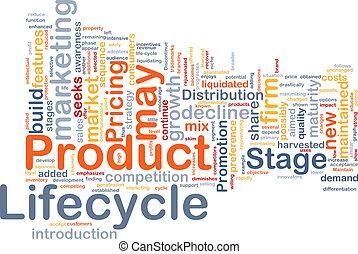 producto, concepto, lifecycle, plano de fondo