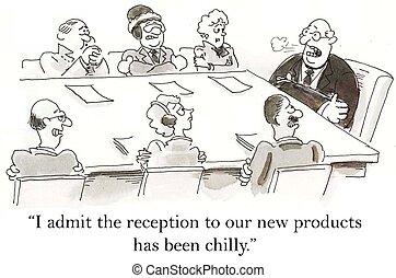 producto, recepción, tiene, ser, frío, para, ejecutivos