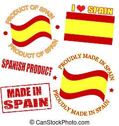 producto, sellos, españa