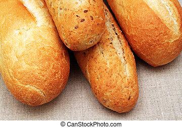 productos, artesano,  bread