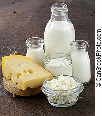 productos, surtido, lechería
