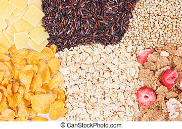 Products and ingredients containing carbohydrates and...