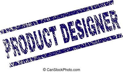 produit, concepteur, grunge, timbre, textured, cachet