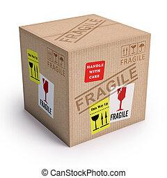 produit, fragile