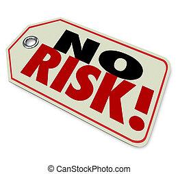 produit, risque, non, sommet, étiquette prix, trusted, guarant, qualité, marque, mieux