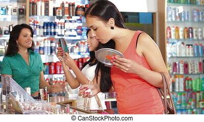 produits de beauté, magasin