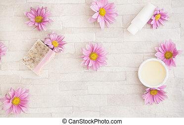 produits, naturel, ing, skincare