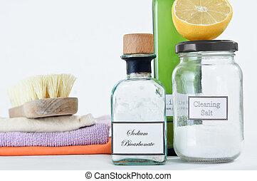 produits, nettoyage, non-toxic