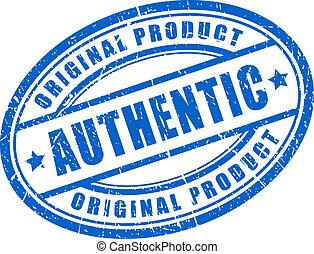 produkt, autentisk
