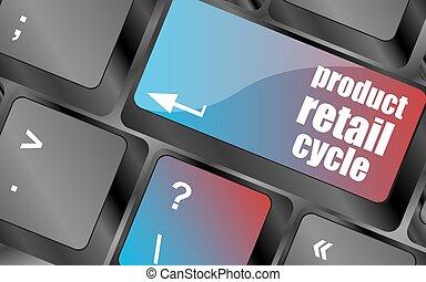 produkt, guzik, klawiaturowa klawiatura, , wektor, miejsce, klucz, wejść, detal, cykl