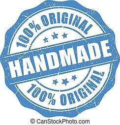 produkt, handgjord, original