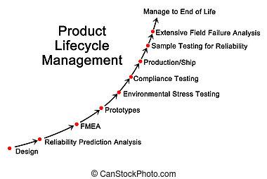produkt, kierownictwo, cykl życia