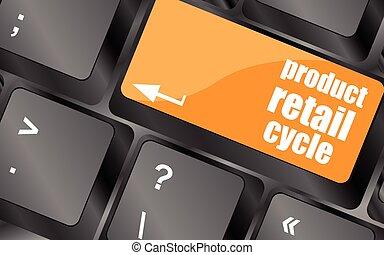 produkt, klucz, ilustracja, wektor, miejsce, klucz, wejść, detal, cykl