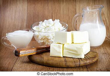 produkt, mleczny