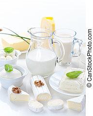 produkt, třídění, mlékárna