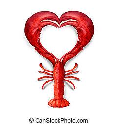 produkty morza, miłość