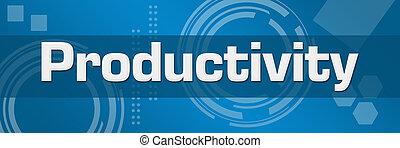 produtividade, abstratos, experiência azul