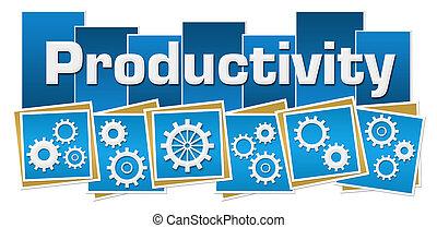 produtividade, azul, quadrados, listras