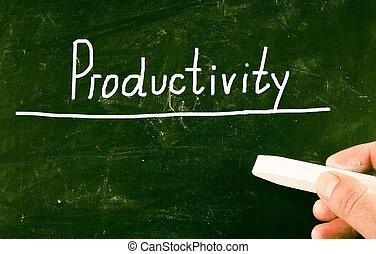 produtividade, conceito