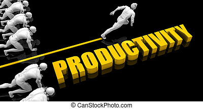 produtividade, líder