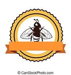 produto, abelha, natural, ícone