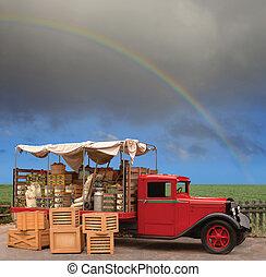 produto, caminhão