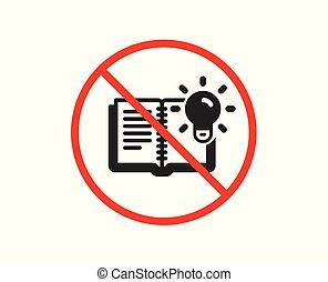 produto, conhecimento, processo, sinal., vetorial, icon., educação
