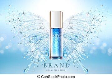 produto, cosmético, cartaz