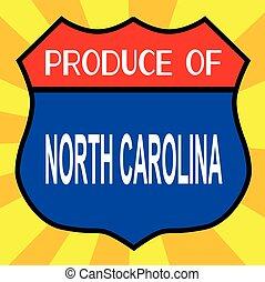 produto, de, carolina norte