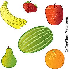 produto, frutas