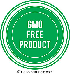 produto, gmo, livre, etiqueta