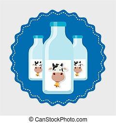 produto, leite