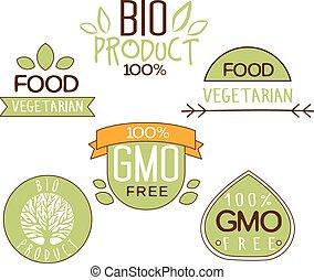 produto, livre, natural, gluten, etiqueta