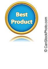 produto, melhor, ícone