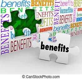 produto, vender, benefícios, características, pedaço,...