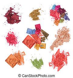 produtos, grupo, maquiagem