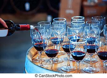 proeven, wijntje
