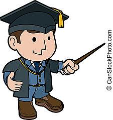 prof, illustration