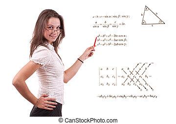 prof, jeune, math
