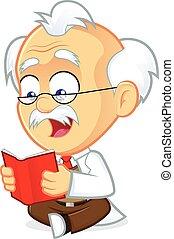 prof, livre lecture