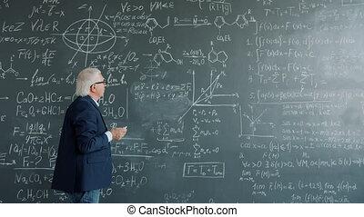 prof, mur, fonctionnement, intelligent, écriture, collège,...