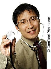 profesional, asistencia médica