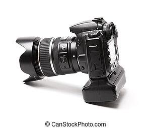 profesional, cámara, foto