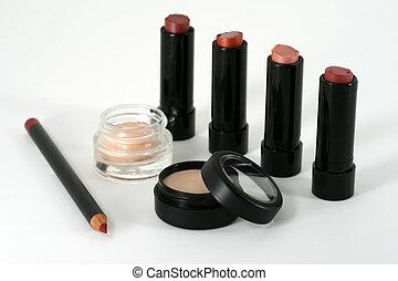 profesional, calidad, componer, y, cosmético, productos