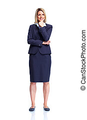 profesional, lady., empresa / negocio