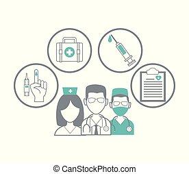 profesional médico, concepto