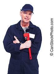 profesional, plumber.